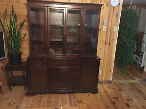 Knechtel chest and china cabinet