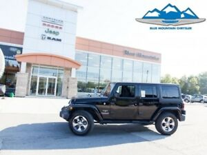 2017 Jeep Wrangler Unlimited Sahara  ACCIDENT FREE, NAVIGATION,