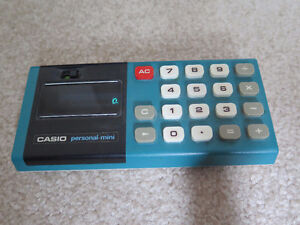 Casio Personal Mini Vintage Retro Calculator London Ontario image 2
