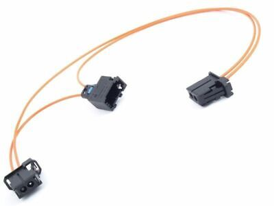 Fits Mercedes BMW Audi VW MOST Fibre Optic Loop Cable Bypass Connector 3 in 1