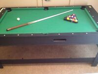 Small Pool table / Slide hockey reversible table