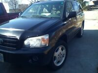 2007 Toyota Highlander SUV, limited edition, leather