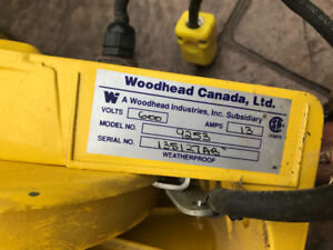 Woodhead 9253 Industrial Duty Cable Reel