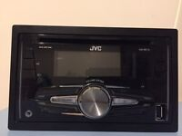 Double din car stereo JVC