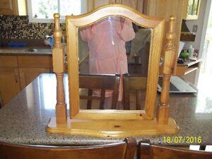 Solid Pine Freestanding Mirror