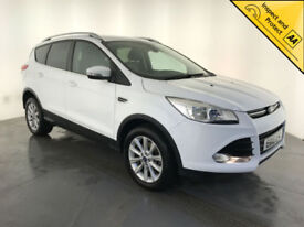 2015 FORD KUGA TITANIUM TDCI DIESEL 1 OWNER FORD SERVICE HISTORY FINANCE PX