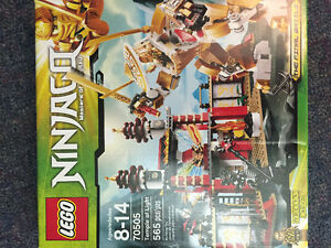 REDUCED PRICE -Complete Lego Ninjago Temple of Light Set #70505