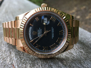 WATCHFINDER  IS BUYING ALL GOLD ROLEX'S & PATEK WATCHES Oakville / Halton Region Toronto (GTA) image 3
