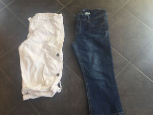 Ladies size 10 capris (Warehouse One)