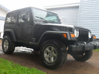 Trades Welcome 06 Jeep TJ 4x4