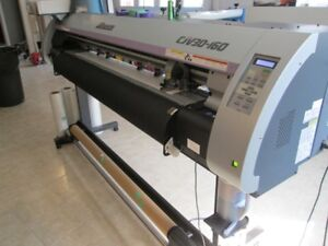 WIDE FORMAT PRINTER, LAMINATOR, VINYL CUTTER & INVENTORY