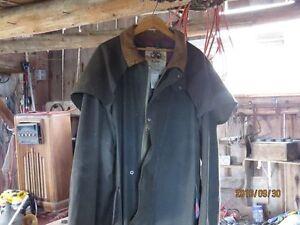 """Genuine Australian """"Koolah"""" oil skin lined coat Peterborough Peterborough Area image 4"""