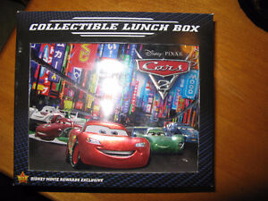 Cars 2 Collectible Lunch Pail - Limited Edition New in Box. London Ontario image 1