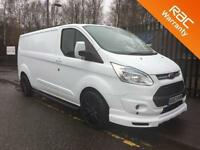 2014 63 FORD TRANSIT CUSTOM 2.2 310 LIMITED LR LWB 125BHP M V SPORT EDITION AIR