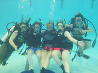 SCUBA lessons in Guelph