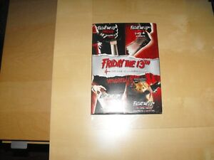 DVD  vendredi 13 coffreet collection 1 a 4