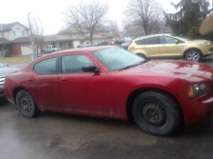 2008 Dodge Charger , Cranberry Red