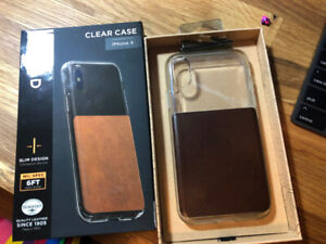 Nomad Clear Case for iPhone X ($50 Retail)
