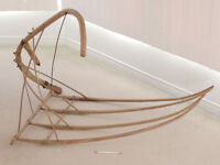 HAY CRADLE/RAKE c. 1885, from a farm in Southern Ontario