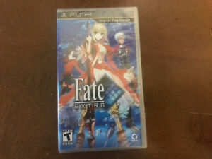 New factory sealed  Fate extra Psp