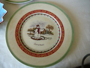 Villeroy & Boch Christmas Plates and Bowl Kitchener / Waterloo Kitchener Area image 3