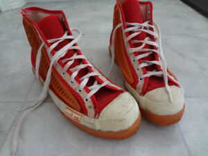 Vintage Acton Broomball shoes