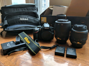 Nikon D3200 with lots of extras!!