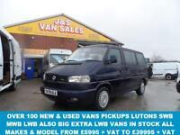 2001 Y VOLKSWAGEN CARAVELLE 2.5 VARIANT 9STR SWB TDI AUTO 102 BHP (( AUTOMATIC