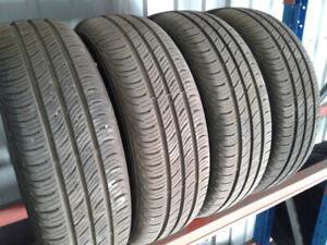4x pneus ÉTÉ 185/65R15 usagés Continental