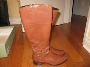 Clark's Artisan County Fair camel leather ladies riding boots!