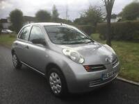 NISSAN MICRA S - HPI CLEAR, AUTOMATIC 2004 Auto 46327 Petrol Silver Petrol