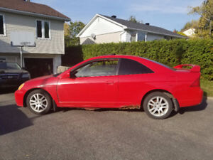 2001 Honda Civic SI Coupe (2 door) - $800 Negotiable
