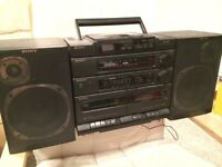SONY Boombox CFD-460 CD RADIO and Cassette unit