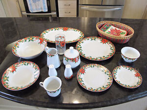 Christmas Dishes - Set of Eight