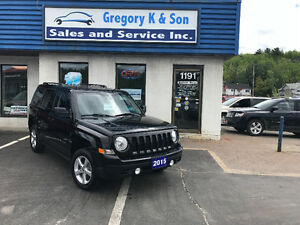 2015 Jeep Patriot North Edition 4x4, Leather, Heated seats!!!!!