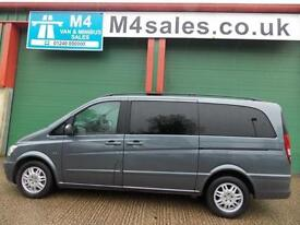 Mercedes Viano 122cdi,8st lwb,ambiente, full leather.