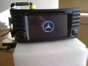 mercedes benz e-class gps bluetooth dvd player