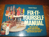 Fix It Yourself Manual - Reader's Digest