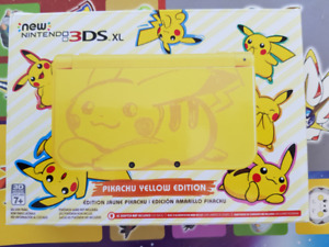 Pikachu Yellow Edition New 3DS XL Brand New