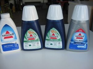 Bissell Little Green Spot and Stain cleaners