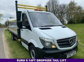 2018 Mercedes-Benz Sprinter 2.1 314Cdi 3.5t Euro 6 140Bhp 14 FT Dropside Tail Li