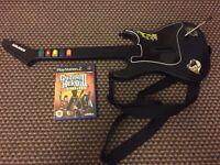 Guitar hero game and Guitar