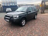 LANDROVER FREELANDER 2.0 TD4- 3 DOORS- FSH- SHORT MOT- P/X TO CLEAR