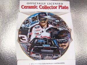 DALE EARNHARDT COLLECTABLE PLATE