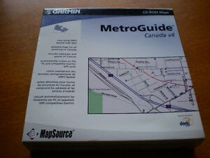 Garmin MetroGuide Canada Version 4 - new, never opened