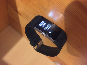 Fitbit Charge 2 (Black, Small)