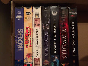 7 VHS Tapes