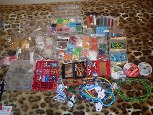 BEADS COLLECTION (+jewellery making things)