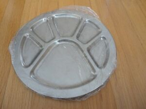 Brand new stainless steel platter plates serving plates London Ontario image 1