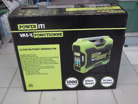 """""""POWER IT"""" LI-ION BATTERY CHARGER 1000 W MAX - NEW IN BOX"""
